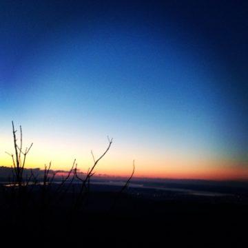日の出をみにいってきました♪