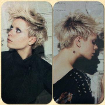 この人の髪型、なんかカッチョ良いなぁ。。。