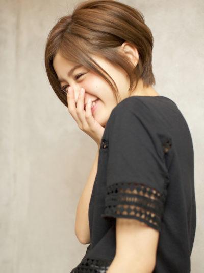 『美シルエット☆』大人可愛いエレガントショートでふんわり感♪