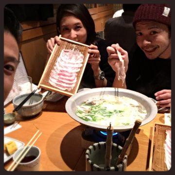 しゃぶしゃぶ美味しいっっ!♪(´ε` ) ~代官山の美容院BEKKUのブログ~