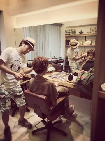 営業前に撮影〜☆代官山美容院BEKKUのブログ☆