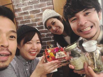 誕生日祝ってもらいました〜(^O^)☆代官山美容院BEKKUのブログ☆