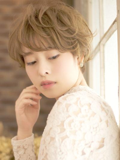 エアリーマッシュショートボブ☆自然なボリューム感で印象◎