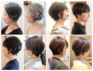 30代、40代、50代、60代✂️素敵なヘアスタイルカタログ集 ( ショート〜ボブ編 )