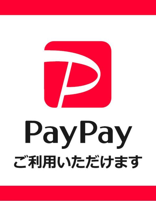 paypay始めました😊✨