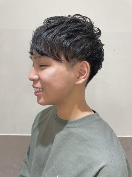 【Chisa】 マッシュベースのツーブロックヘア 🎖✨