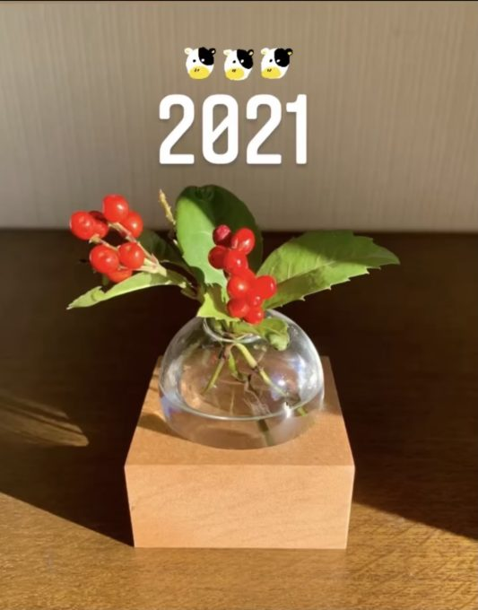 【2021年】新年のご挨拶〜MIKI ver〜