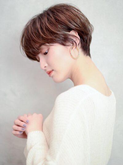 ハンサムマッシュ☆大人ショート