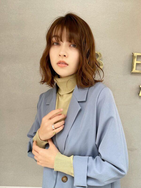 ☆エアリーミディ☆パーマでスタイリング簡単!!